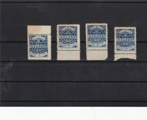 samoa unmounted mint with gum margin stamps ref 11638