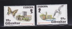 Gibraltar 483-484 Set MNH Europa (C)