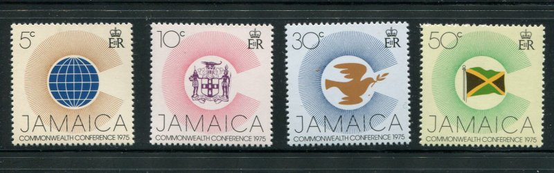 Jamaica MNH 394-7 Commonwealth Conference 1975