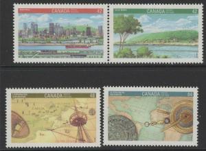 CANADA SG1487/90 1992 CANADA 92 MNH