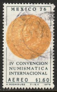 MEXICO C519 International Numismatic Convention USED. F-VF. (1337)