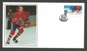 Canada Post Guy Lafleur with Canadiens -- Year 2008 -- HOCKEY FDC #2265