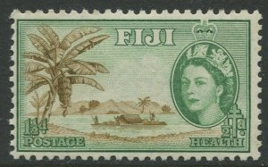 STAMP STATION PERTH Fiji #B3 QEII Semi Postal Issue MLH 1954 CV$0.40