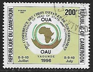 Cameroon - # 902A - African Union OAU - used....{BRN9}