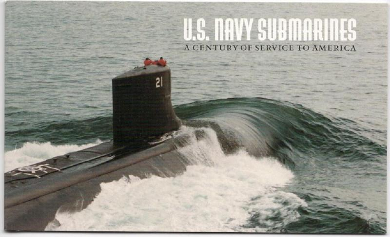 BK279 Booklet - Complete -  U.S. Navy Submarines