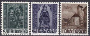 Liechtenstein #329-31  F-VF Unused  CV $5.70 (Z5179)