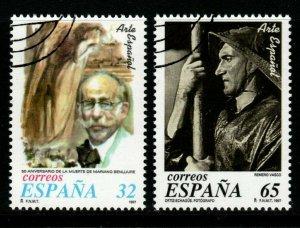 SPAIN SG3442/3 1997 SPANISH ART FINE USED