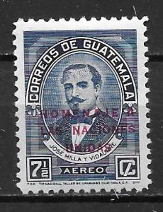 Guatemala C230 1959 UN Overprint single NH