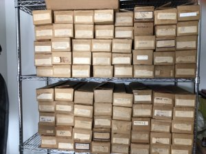 WW, BRITISH COLONIES, 81 Long Boxes Enormous Accumulation of Stamps, 300k +