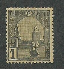 Tunisia Scott Catalog Number 29 Used Issued in the year 1906