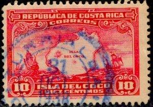 Costa Rica; 1936: Sc. # 178: O/Used Single Stamp