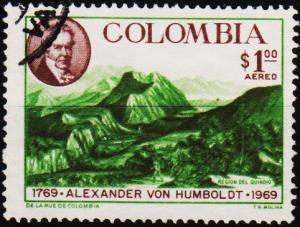 Colombia. 1969 1p S.G.1239 Fine Used