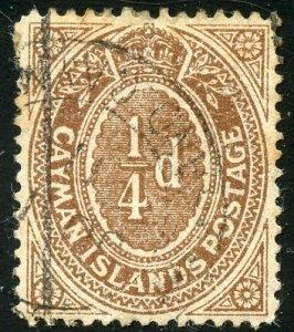 Cayman Islands Scott 31 UFH - SCV $1.00