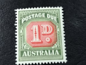 AUSTRALIA # J87a-MINT NEVER/HINGED-----POSTAGE DUE-----1958-60