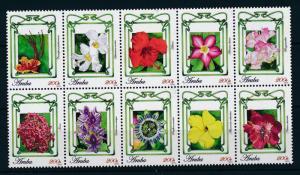 [AR472] Aruba 2010 Flora Flowers Fleurs Blumen MNH