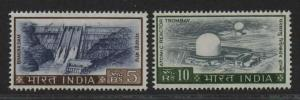 $India Sc#421+422 M/NH/VF, part set, high values, Cv. $27.50