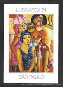 Brazil #1360 MNH Souvenir Sheet