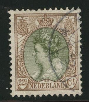 Netherlands Scott 76 used 1898 issue