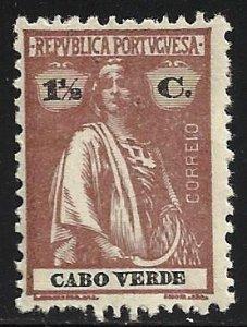 Cape Verde 1914 Scott# 147 MH