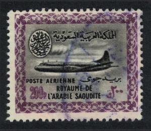 Saudi Arabia Vickers Viscount 800 Aircraft 1v 200p canc KEY VALUE SG#442 SC#242