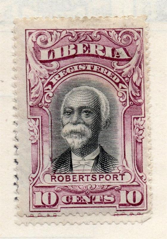 Liberia 1920s Officials Early Issue Fine Mint Hinged 10c. 151460