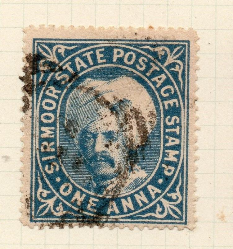 Indian States Sirmoor 1885-88 Early Issue Fine Used 1a. 194692