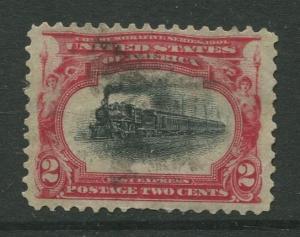 STAMP STATION PERTH USA #295 Pan American Expo 1901 Used CV$1.00.