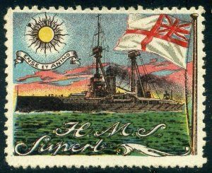 Cinderellas: England Great War Ships - HMS Superb (Delandre)