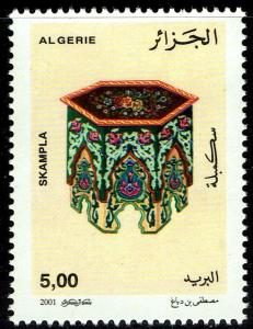 Algeria #1208  MNH - Handicrafts Skampla (2001)