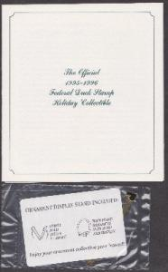 1995-1996 Federal Duck Stamp Collectible Holiday Ornament