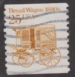 US #2136c Bread Wagon no tag variety - Used