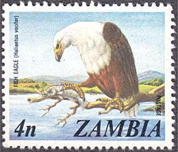 Zambia # 138 used ~ 4n Eagle
