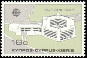 Cyprus #687-688, Complete Set(2), 1987, Never Hinged