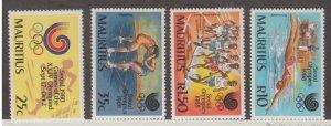 Mauritius Scott #678-681 Stamps - Mint NH Set