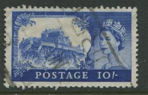 STAMP STATION PERTH Great Britain #527 QEII Castle Definitive Used CV$3.75.