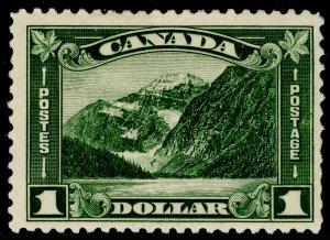 CANADA SG303, $1 olive-green, NH MINT. Cat £130.