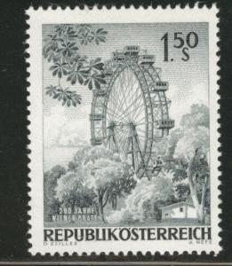 Austria Scott 759 MNH** 1966 Ferris Wheel Prater stamp