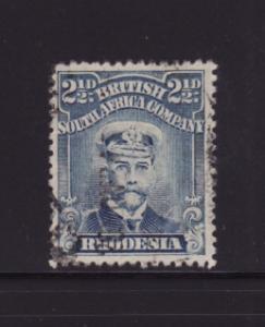 Rhodesia 123 U King George V