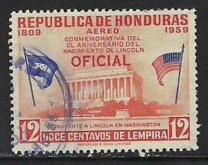 Honduras CO103 VFU Z4838-3