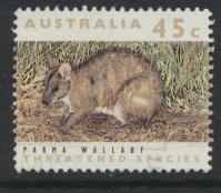 Australia SG 1312  Used  - Threatened species wallaby