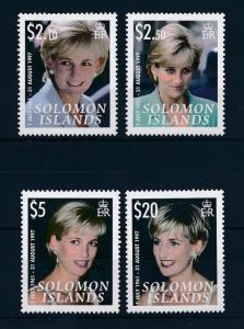 [48730] Solomon Islands 2007 Princess Diana 10th Memorial anniversary MNH