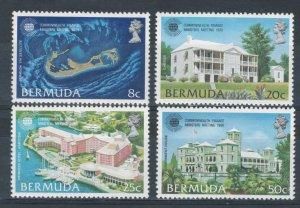 Bermuda 1980 Commonwealth Finance Ministers Meeting Scott # 402 - 405 MNH