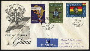 wc053 Ghana Founder's Day 1960 FDC first day cover