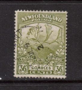 Newfoundland #126 Used Rare Dated Copy