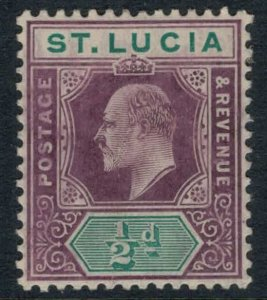 St. Lucia #43* CV $4.50