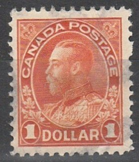 @122 Canada Used Admiral $1