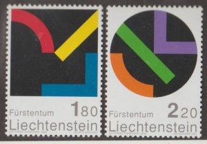 Liechtenstein Scott #1218-1219 Stamps - Mint NH Set