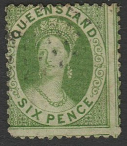 QUEENSLAND QV 6d SG104 sound used....................... ...................A361