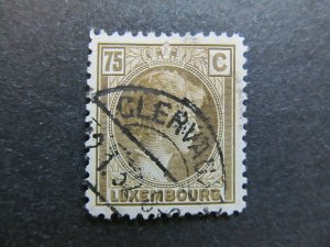 A4P27F71 Letzebuerg Luxembourg 1926-35 75c used
