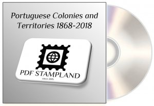 Portuguese Colonies and Territories 1868-2018 (5 albums) PDF STAMP ALBUM PAGES